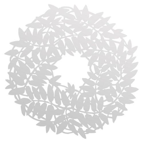 Plexíkrans glær 20cm